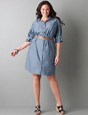254de547c6 OOTD  The (Almost) Perfect Denim Shirt Dress