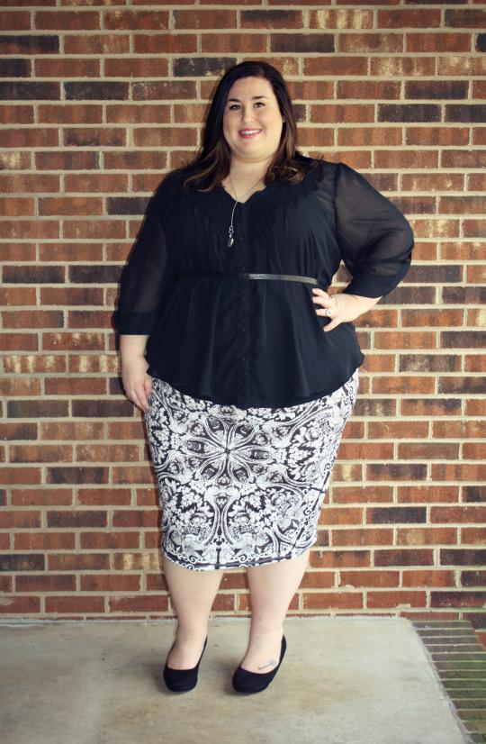 jan 2013 print skirt