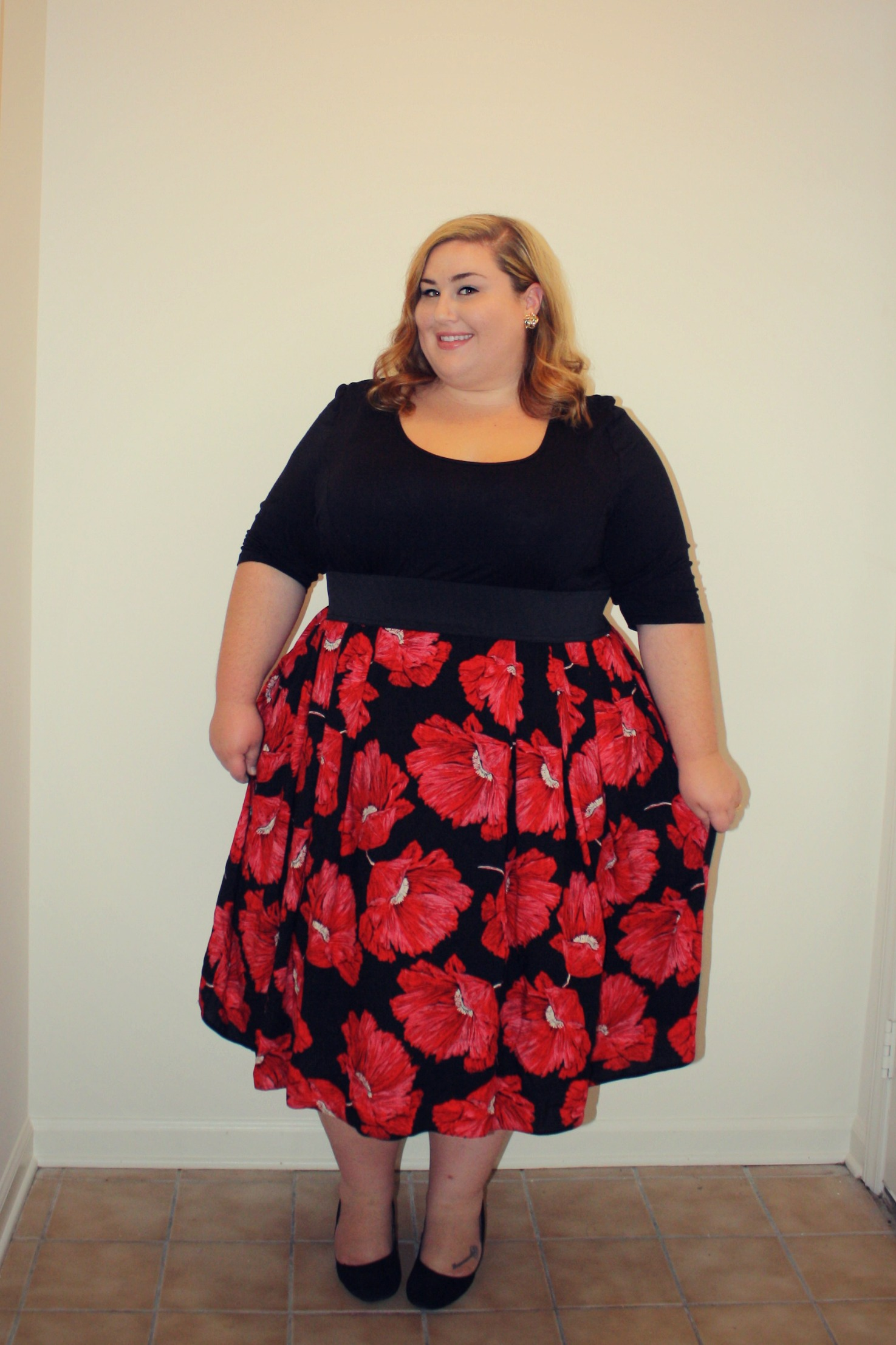 Christmas dresses evans - Ootd Dressing Up With Scarlett And Jo Theplussideofme