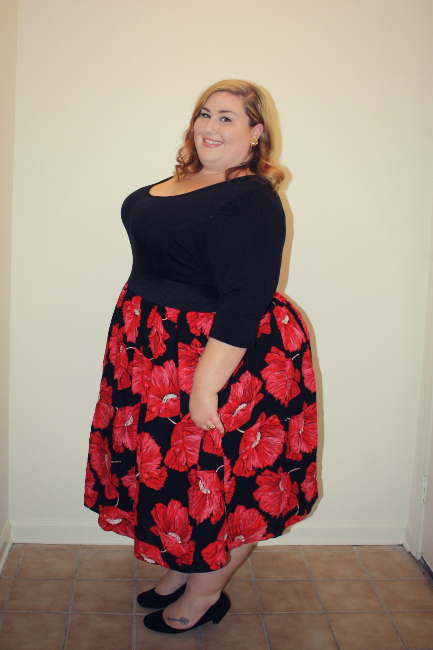 Ootd Dressing Up With Scarlett And Jo Theplussideofme